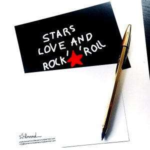 Tarjetas Rockeras Originales: Las mamis rockeras nunca duermen. Stars, Love and rock´n´roll