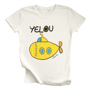 Camisetas Yellow Submarine Adulto. Camisetas The Beatles. Tienda Online